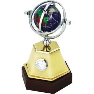 Dünyalı Saatli Masa Seti 12 x 19,5 x 12 cm