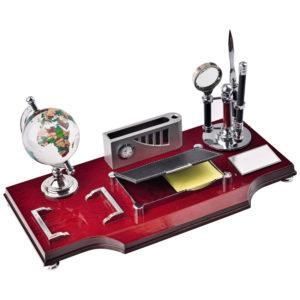 Lüx Masa Seti Ebat: 16 x 36 cm Baskı Alanı: 3,5 x 6,5 cm Metal Etiket Baskı Alanı: 1,5 x 16 cm