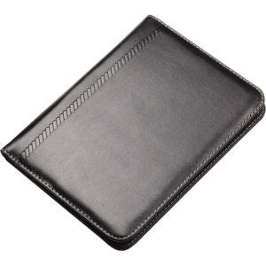 A4 Sekreterlik Bloknot Fermuarlı Kağıtlık Hesap makinesi Kartlık Kalem aksesuardır. Baskı: Frekans, UV 25 x 32 cm