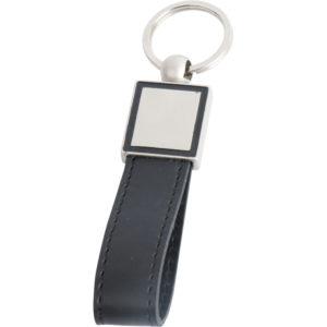 Derili-Metal Anahtarlık Şeffaf Poşet Çift Yön