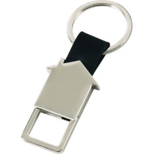 Metal-Derili Anahtarlık Karton Kutulu Çift Yön