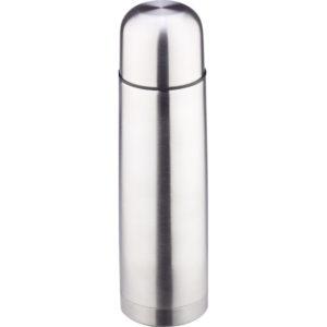 Bardaklı Termos Kapasite: 750 ml Ebat: 8 x 27.5 cm Lazer Baskı Deri Kılıflı