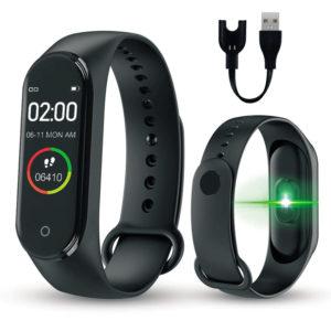 Kalp Atış Hızı Sensörü TanAkıllı Bilekliksiyon Ölçer Adımsayar Kilometre Kalori Ölçer Bluetooth Telefon Bağlantısı arama Mesaj Hatırlatma Ateş Ölçer Uyku Hatırlatma Su İçme Zamanı Hatırlatma Titreşimli Bildirim