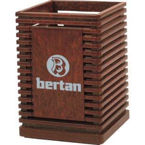 Plastik Kalemlik İki Yön Ürün Boyutu: 7,5 x 7,5 x 11 cm Reklam Alanı: 4 x 6,5 cm