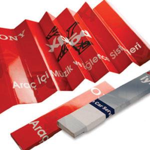 • Karton Oto Güneşlik •1 Renk Baskılı •Ebat: 57,5 x 120 cm • Laklı •Akordiyon Katlamalı •Paketleme : 50 lik kolilerdedir. koli ebat: 60*40*40 cm •Karton Güneşliklerin Üretim Süresi Grafik Onayından itibaren 15iş günüdür. Min. 1000 Ad. Tek Renk Baskılı
