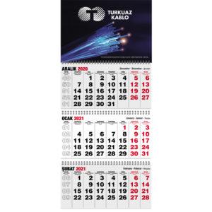 Klasik Gemici Takvimi Ebat:32 x 77 cm Üç Parça Spiralli Takvim Ebadı: 32 x 77 cm Alt Karton: 400gr. Exprint Reklam Alanı: 32 x 23 cm Blok Ebadı: 32 x 16 cm Yaprak Kağıdı: 80 gr. 1. Hamur