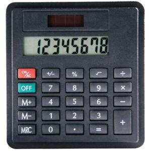 Hesap Makinası 8,5 x 9 cm Organizer, Ajanda ve Sekreter Bloknotlar için