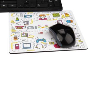 Standart Mouse Pad 22X18 cm ebat 4 renk ofset baskı Pvc kaplama Nova yada iğne desen kauçuk taban Minimum 1000 adet özel üretim sipariş alınır.