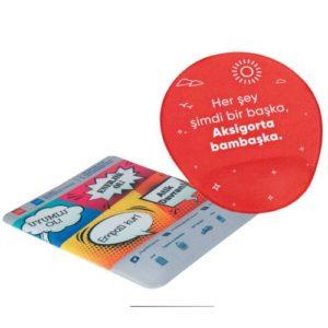 Sünger Bilekli Mouse Pad Form verilmiş sünger üzeri kumaş kaplı sünger bilek desteği 4 renk transfer baskı Minimum 1000 adet özel üretim sipariş alınır.