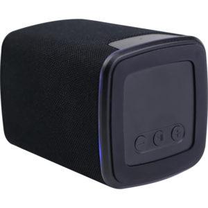 Speaker – Hoparlör Bluetooth: 4.2 Batarya: 300 mAh Baskı Bölgesi: Üst Yüz Işıklı Baskı/Beyaz Işık Destekleyiciler: USB, BT, SD Giriş: DC5V 1A (Max) Şarj Süresi: 1 Saat Ağırlık: 125 Gram Materyal: ABS ve Kumaş Kablo: 1.5A (Max) Micro Kutu: Hediye Kutusu Beyaz LED Işık Baskılı