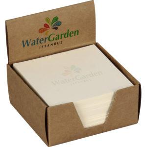 Kraft Küp Bloknot 250 Yapraklı Kutu: 300 gr. Kraft Ebat: 8 x 8 x 4 cm İç: Kitap Kağıdı 250 Yaprak Ebat: 7.8 x 7.8 cm Fiyat Teklifi Alınız..